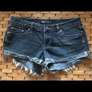 YMI denim shorts